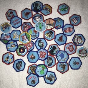 American Heritage Girls AHG Badges Patches Merit NEW