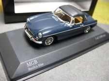 MGB Cabrio 1968 Blue 1 43 Model 430131044 MINICHAMPS