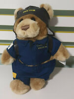 RACQ CAREFLIGHT TEDDY BEAR PLUSH TOY! CAREFLIGHT MEDICAL DOCTOR WITH TAG