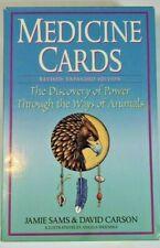 Medicine Cards 1999 Jamie Sams with 52 Animal card deck