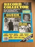 RECORD COLLECTOR #133 Queen Live, Hendrix, Gary Numan, Marc Bolan, SEPT 1990
