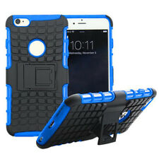 Shock Proof Heavy Duty Armour Hybride Case Cover For Vodafone Smart Prime 6 BLUE