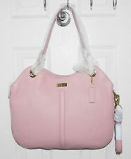 Cole Haan Top Handle Leather Village II Bag Blush Light Pink B45076
