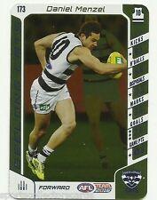 2016 AFL Teamcoach Silver Code GEELONG DANIEL MENZEL #173 GOLD UNUSED AFL CARD