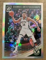 2018-19 Donruss Optic Giannis Antetokounmpo Silver Holo Prizm #85 Bucks🏆MVP