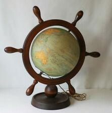 Globe terrestre lumineux en verre PERRINA M.PICQUART