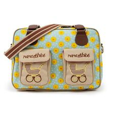 PINK Lining Mama et Bebe GIRASOLI Baby Cambio Pannolino Diaper Bag