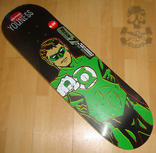 "ALMOST / DC COMICS - Skateboard Deck - Youness / Green Lantern - 8.25"" wide"