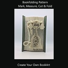 Book Folding Pattern - Cut & Fold - Telephone 2
