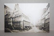 neue AK HAMBURG -- Ecke Dovenfleet / Hinter der Lembkentwiete -- Motiv von 1883