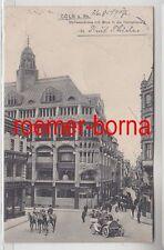 74178 Ak Köln am Rhein Stollwerckhaus mit Blick in die Hohestrasse 1907