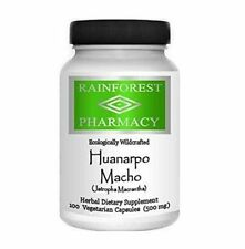 Rainforest Pharmacy Huanarpo Macho 100 Capsules 500 Mg 100% Natural