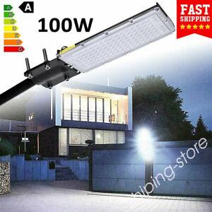 100W LED Street Light Floodlight IP65 Outdoor Highway Stadium Road  Lamp ZE