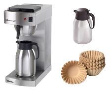 Bartscher Kaffeemaschine Aurora 20 + 1000 Korbfilter + 2. Isolierkanne