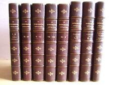 J. TEMPERE : MICROGRAPHE PREPARATEUR. 5 VOLUMES + 3 VOLUMES DE PLANCHES. 1893