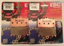 KAWASAKI ZXR750 (1989 à 1995) EBC PLAQUETTES DE FREINS AVANT (FA158HH) (2