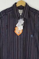 Mens VERSACE Jeans COUTURE Shirt Long Sleeve JVC SUPER SLIM Fit XL RRP £160 P18