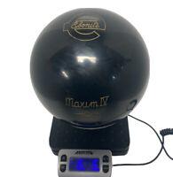 VINTAGE NEW Ebonite Maxim IV 4 Black 16 Pound Bowling Ball NON-DRILLED NEW STOCK