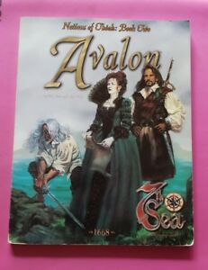 AVALON - NATIONS OF THEAH BOOK TWO - 7TH SEA ROLEPLAYING JOHN WICK AEG RPG OOP