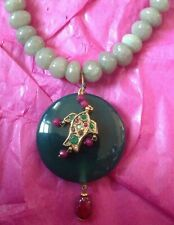 Green Jade Necklace and Pendant