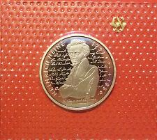 BRD 10 Deutsche Mark 1997 J Heinrich Heine PP  15,5g  625er Silber