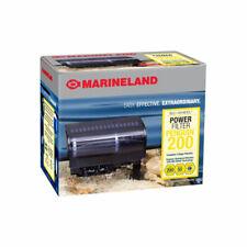MarineLand Penguin Aquarium Power Filter for Fish Tank 30-50 Gallon, 200 GPH