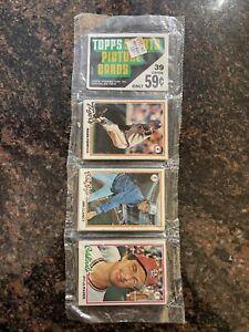 1978 Topps Baseball Rack Pack
