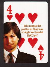 Steve Jobs Apple Resignation Neat Playing Card #5Y8