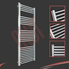 500mm(w) x 1400mm(h) Straight Chrome Heated Towel Rail 2294 BTUs Radiator Warmer