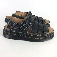 Dr. Martens Arc Fisherman Sandals Mens Size 9 Black 8092