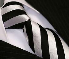 Viga reticulada de Luxe corbata tie slips corbata cravatte Dassen corbatas 164 negro