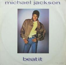 "MICHAEL JACKSON BEAT IT 12"" FUNK / DISCO UK 1983 TA 3258  EX/EX"