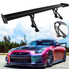 """53.15"""" Lightweight Aluminum Car GT Rear Wing Racing Spoiler Bracket Universal"""