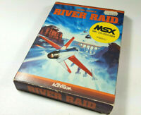 Activision´s RIVER RAID 1983 MSX Original Game Cassette Tested Boxed CIB RARE