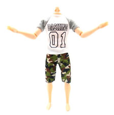 1set casual t-shirt+pants dolls clothes outfit for  ken dolls accessorie X
