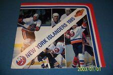 1985 New York ISLANDERS Calendar DENNIS POTVIN Brian TROTTIER Billy SMITH