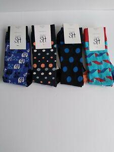 Happy Style Socks Sport Low Cut Socks 3 Pair Shoe Size 5.5-9.5 NEW #34
