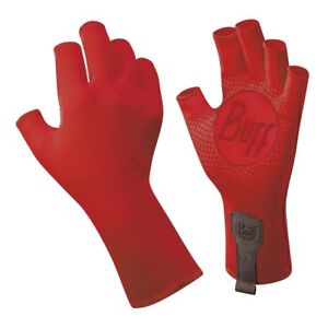 Buff Sport Series Water 2 Gloves Red Edge Large/XLarge