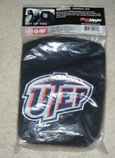 UTEP Car Head Rest Covers 2  & 3 storage food containers, new,