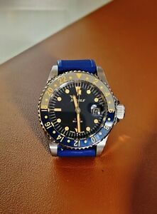 """Squale 1545 Tropic GMT reference1545TCG """"Ghosted Bezel"""""""