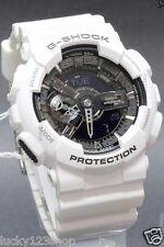 GA-110GW-7A White Casio Watch G-Shock 200M WR Analog Digital X-Large Resin New