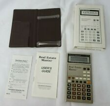 Calculated Industries Real Estate Master Calculator w/ Manual & Case  T5