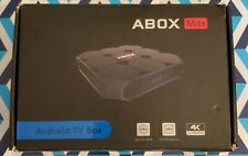 Abox Max Android TV Box 4K Ultra HD Streaming Media Player