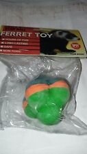 SPOT PET FERRET LATEX SPONGE STAR BALL TOY 1 PACK SMALL ANIMAL OR CAT. FREE SHIP
