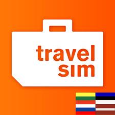 SIM-Karte (SMS/Tel&Daten,4G/3G) für Russland, Baltikum(Estland,Lettland&Litauen)