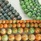 Wholesale Natural Jade Stone Gemstone Round Spacer Loose Beads 4mm 6mm 8mm 10mm