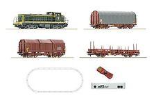 Roco 51267 z21-Digital-Startset Diesellok BB63000 SNCF Ep5 mit Güterzug / Neu