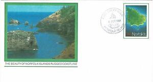 NORFOLK ISLAND 1981 24C PRE STAMPED ENVELOPE NO 002 FIRST DAY ISSUE CDS