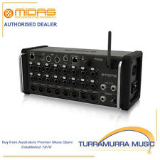Midas MR18 18-Input Digital Rack Mixer Integrated WiFi iPad/Android Tablet MR-18