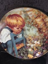 1983 MICHAEL'S MIRACLE Nancy Turner Hatching Chicks SIGNED Ltd Ed Plate